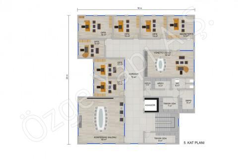 Ofis 697 m2 - 5. Kat