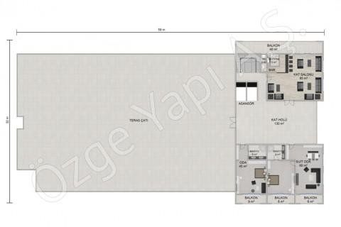Otel 8115 m2 - 3. Kat