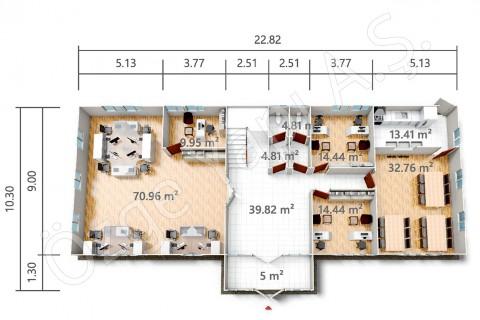 PRO 415 m2 - Zemin Kat