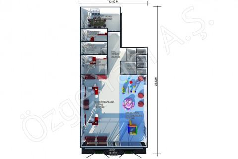Satış Ofisi 302 m2