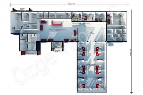 Satış Ofisi 645 m2