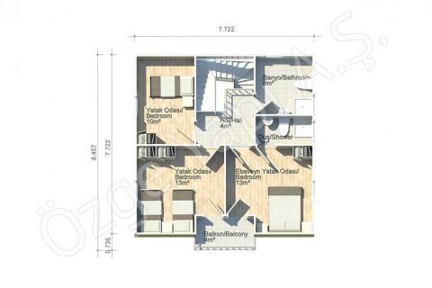 Anemon 128 m2 - 1. Kat