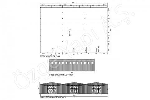 Çelik Yapı 600 m2