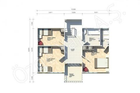 Fulden 154 m2 - 1. Kat