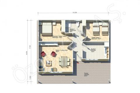 Manolya 92 m2