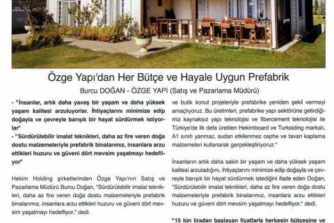 Pencere Cephe Dergisi