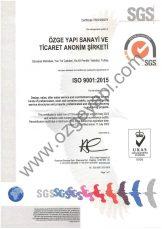 ISO 9001 UKAS Belgesi