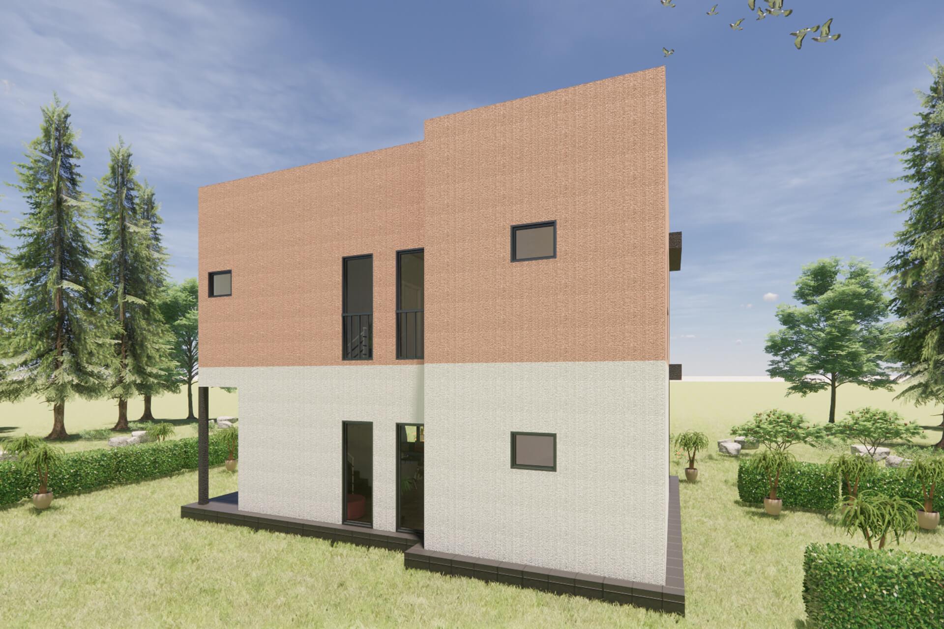 Prefabrik Modern Villa